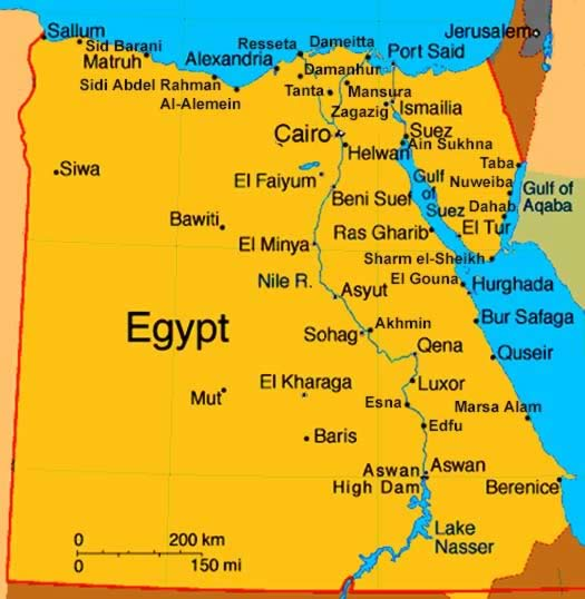 Travel - Hot Spots - Egypt